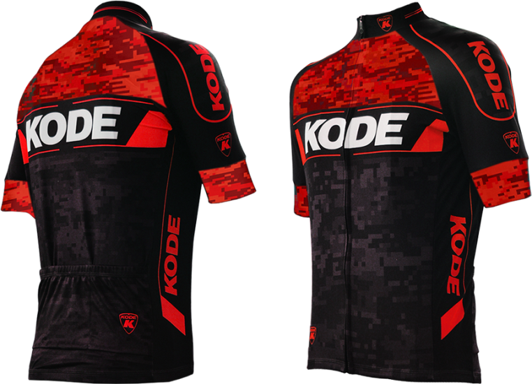 Camisa de Ciclismo Camo